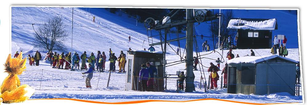 Une station de ski familiale aux Plans d